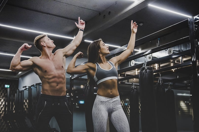 vrouwen worden niet snel bulky